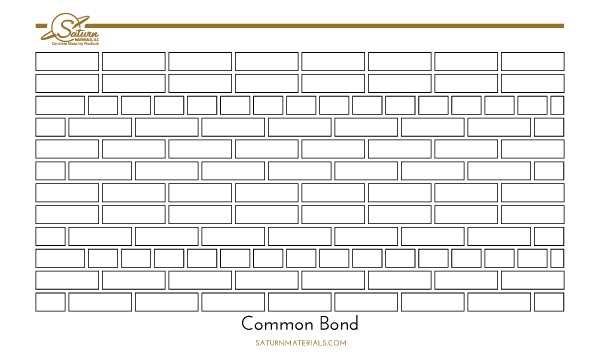 Saturn Materials-Commond Bond brick pattern