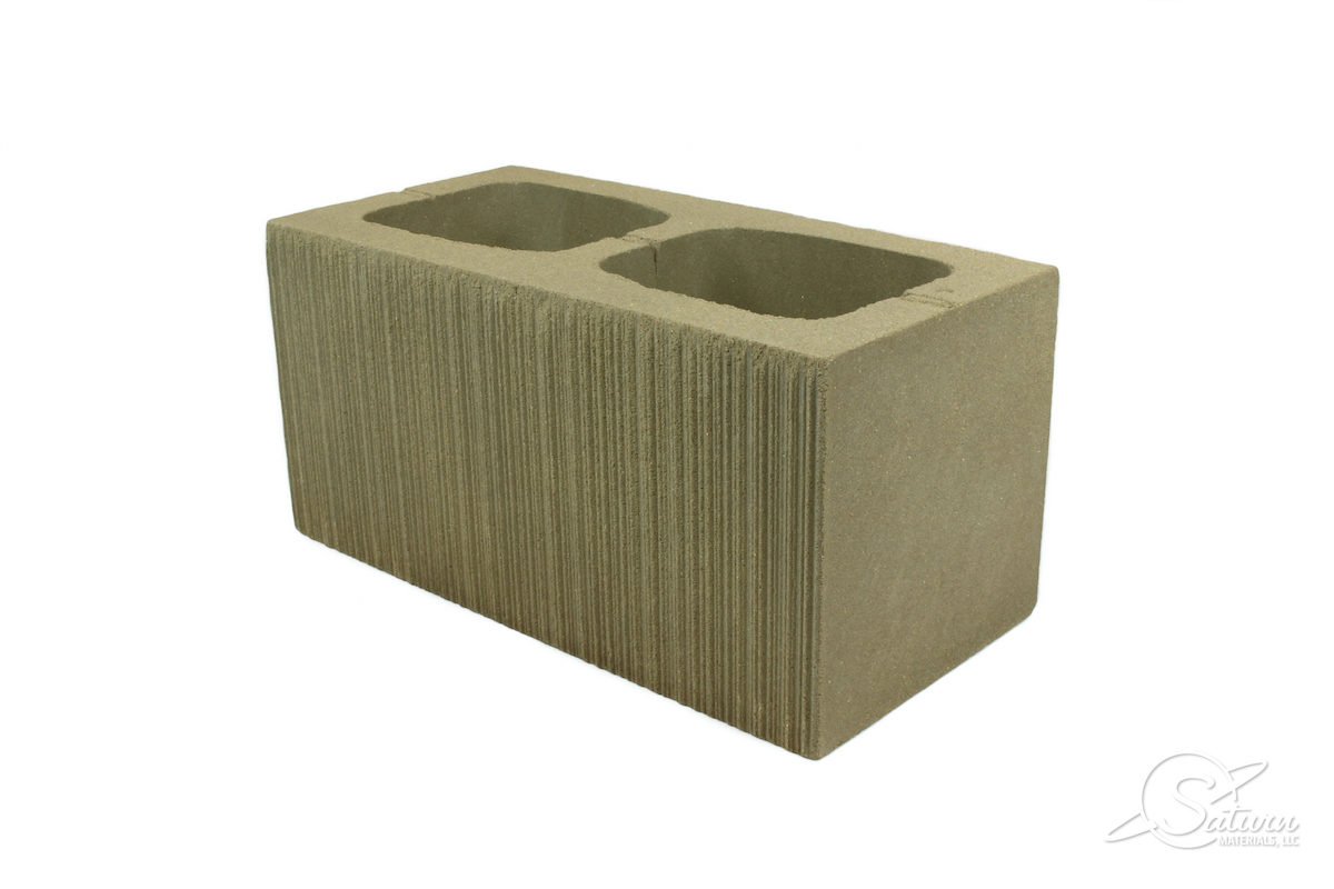 Saturn Materials Masonry - Structural - 8x8x16 Striated Face