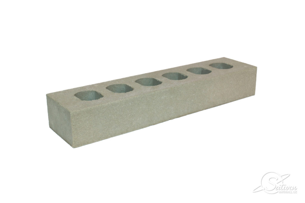 Ambassador Cored Brick - Left Angle