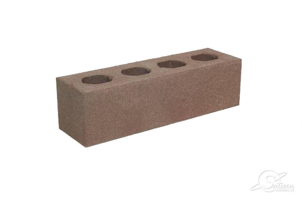 King Cored Brick - Left Angle