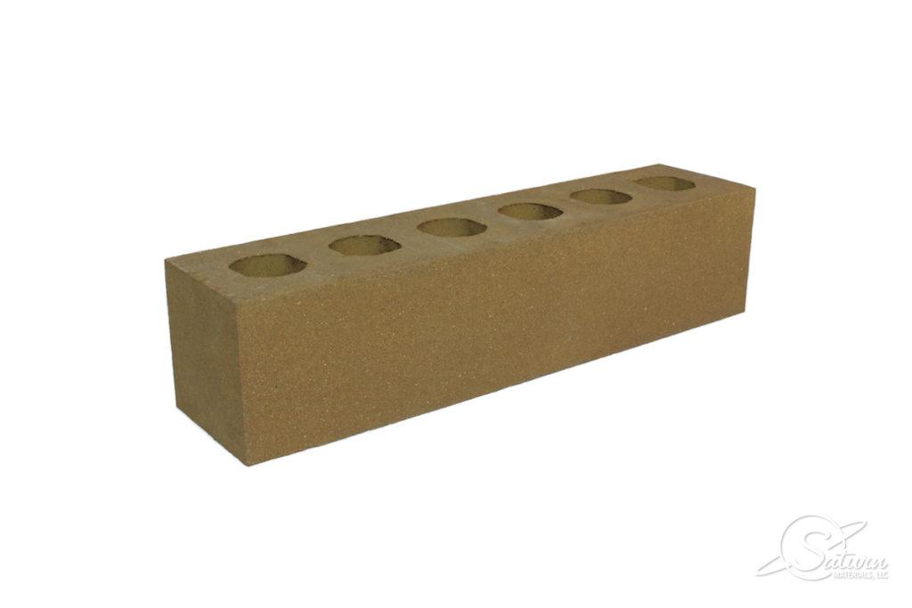 Monarch Cored Brick - Left Angle