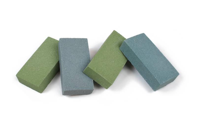 Saturn Materials LANXESS Pigment - Color Matching Process - Blue and Green Bricks