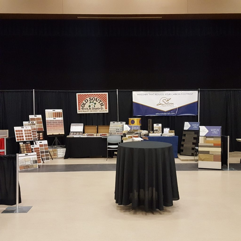 Mega Booth at Mississippi CSI Product Show